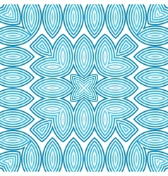 Blue abstract leaves background vector image