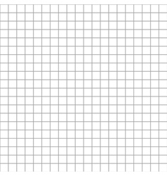 Five millimeters square grid on white seamless vector