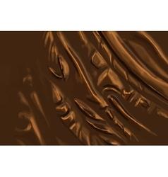 Abstract metal bronze background vector