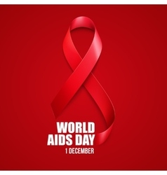 Aids awareness world aids day concept vector