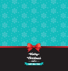 christmas bow background 2709 vector image vector image