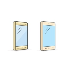icon of smartphone vector image vector image