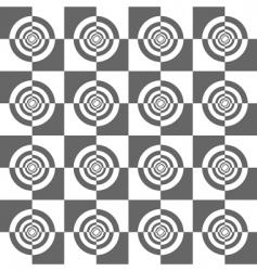op art pattern vector image vector image