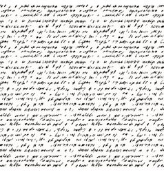 Seamless background of abstract handwriting vector image