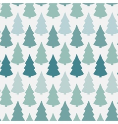 seamless pattern with abstract christmas vector image
