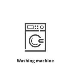 washing machine icon symbol vector image