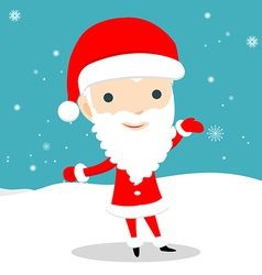 Young santa claus vector