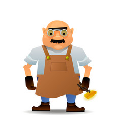 Blacksmith in format vector