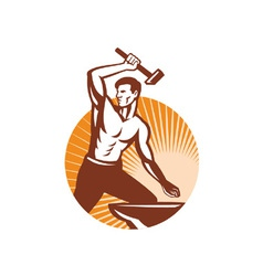 blacksmith vector image vector image