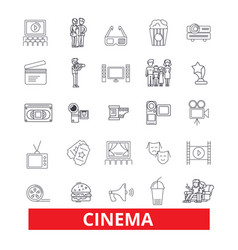 Cinema film movietheatre entertainment vector