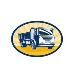 Dumper or dump truck vector
