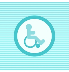 Invalid color flat icon vector image