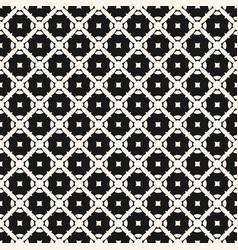 ornament pattern diagonal lattice squares vector image vector image