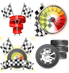 Racing concepts vector