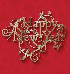 Decorative new year background 2811 vector