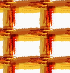 Rough brush brown checkered vector