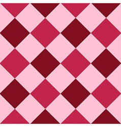 Pink red purple diamond chessboard background vector