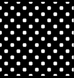 monochrome seamless texture with octagons vector image vector image
