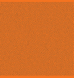 orange leather pattern vector image vector image