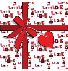 Elements to valentines day vector