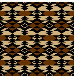 Navajo aztec textile inspiration pattern Native vector image