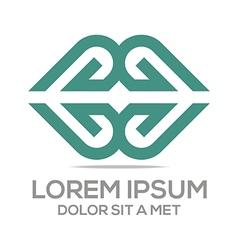 icon love couple design symbol vector image