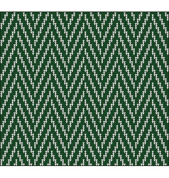 Knitting pattern sweater 3e vector