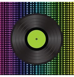 vinyl background vector image vector image