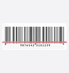 Barcode scanning vector image vector image