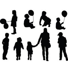Children - vector