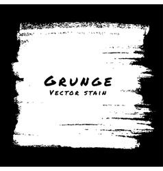 Hand Drawn White Grunge background vector image