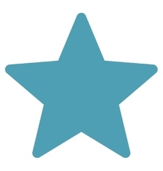 Star icon from Competition Success Bicolor Icon vector image vector image