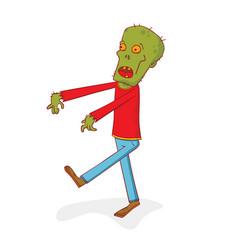 Walking zombie vector