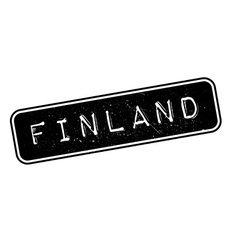 Finland rubber stamp vector image