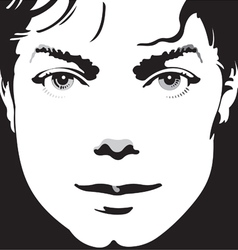 Portrait vector