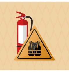 Safety icon design vector