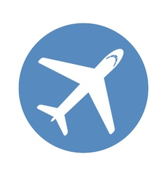 Airplane icon vector