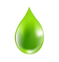 Green drops vector