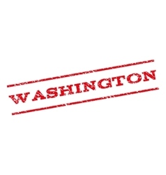 Washington watermark stamp vector