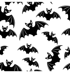 Bat - seamless background vector image vector image