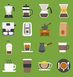 Coffee method vector