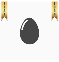 Egg icon eps10 easy to edit vector