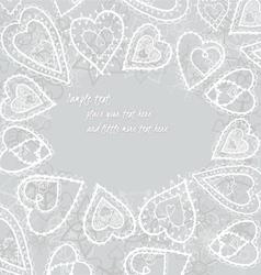 Heartssnowflakes08 vector