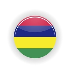 Mauritius icon circle vector