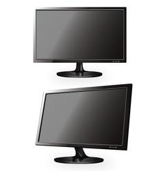Monitors vector image vector image