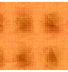 Orange halftone pattern vector