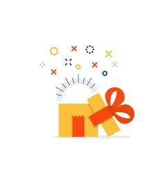 Present reward prize icon vector image vector image