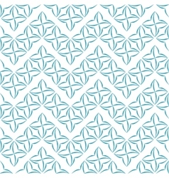 Stylized Four-Petal Flower Background vector image vector image