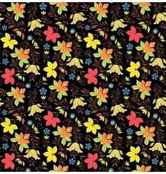 Russian seamless pattern vector