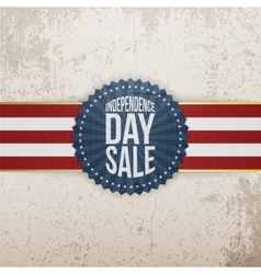 Independence day sale modern graphic tag vector